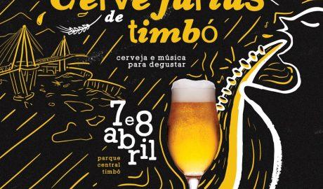 O Parque Central de Timbó será transformado em uma cervejaria neste fim de semana (7 e 8/4). Inspirado no processo de fabricação da bebida, o local estará com decoração e programação convidativas àqueles que curtem a mistura de malte, lúpulo e água. O 1º Festival das Cervejarias da cidade, com entrada gratuita, é organizado pela Prefeitura Municipal de Timbó, por meio do Departamento de Turismo, com apoio das cervejarias Berghain, Blauer Berg, Borck e Hersing.