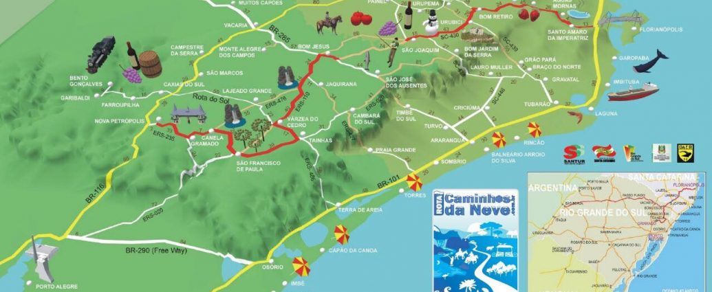 Caminho da Neve - Turismo on line
