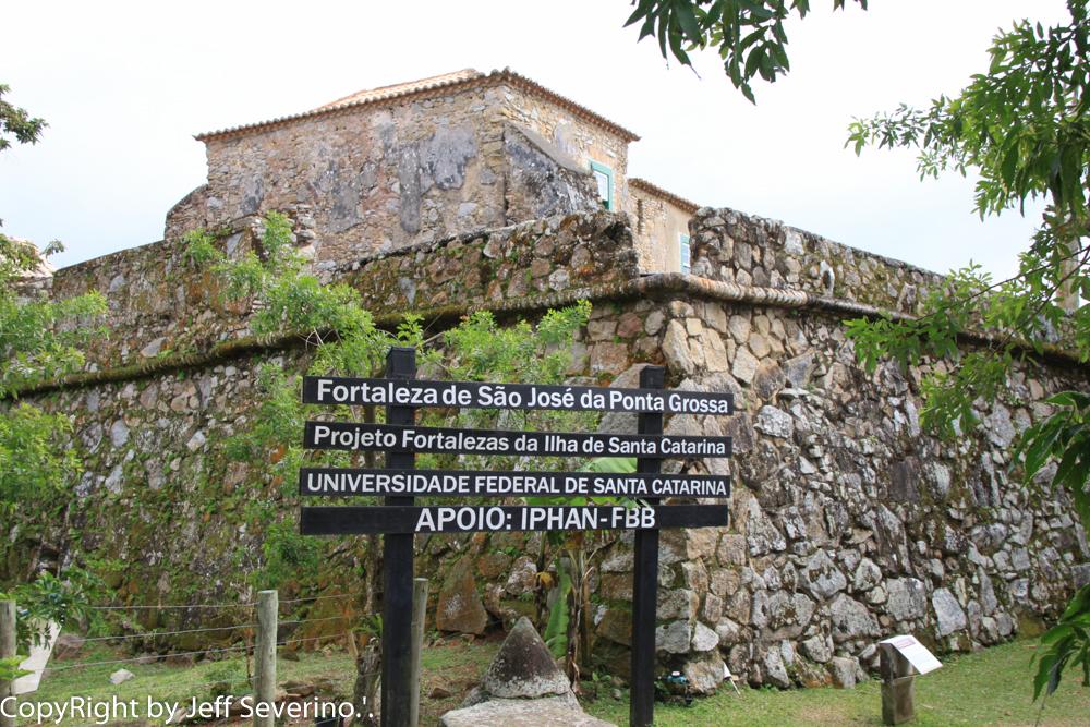 Fortaleza de São José da Ponta Grossa - Turismo on line