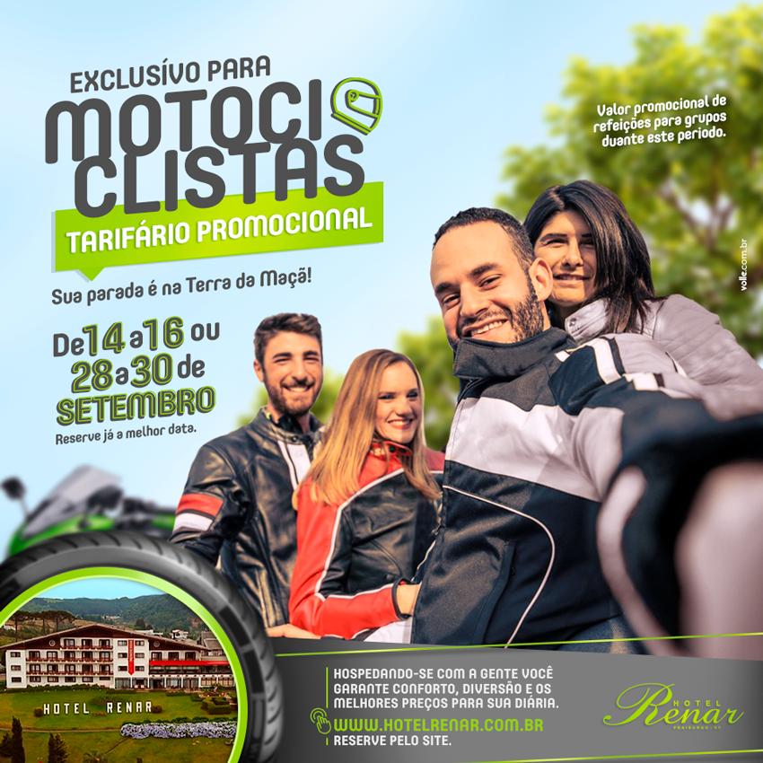 Hotel Renar e os motociclistas - Turismo on line