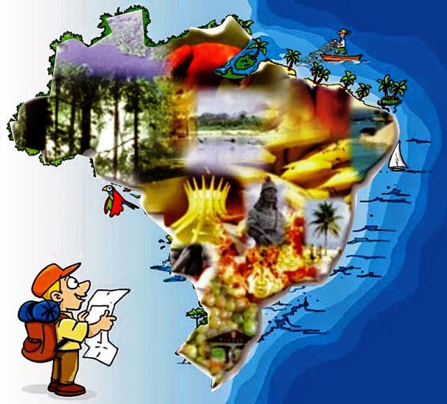 Mapa de viagem -Turismo on line