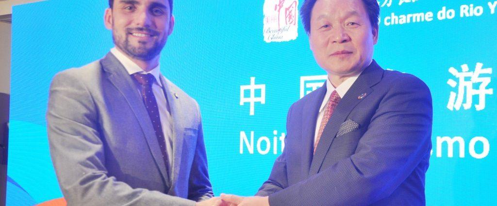 Alisson e Zhang Xilong - Turismo on line