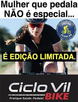 Mulher que pedala - Turismo on line