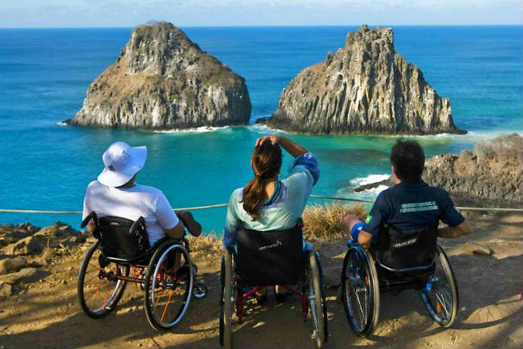Acessibilidade em Noronha - Turismo on Line