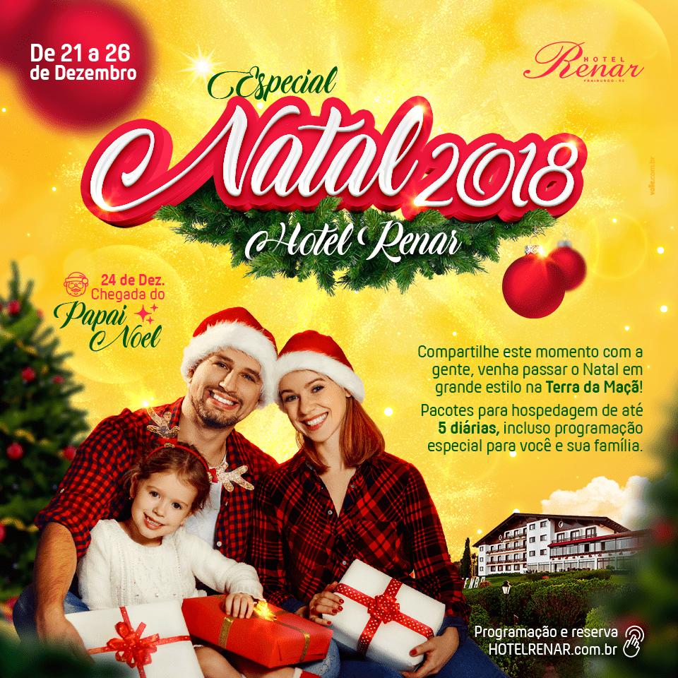 Hotel Renar Natal 2018 - Turismo on line