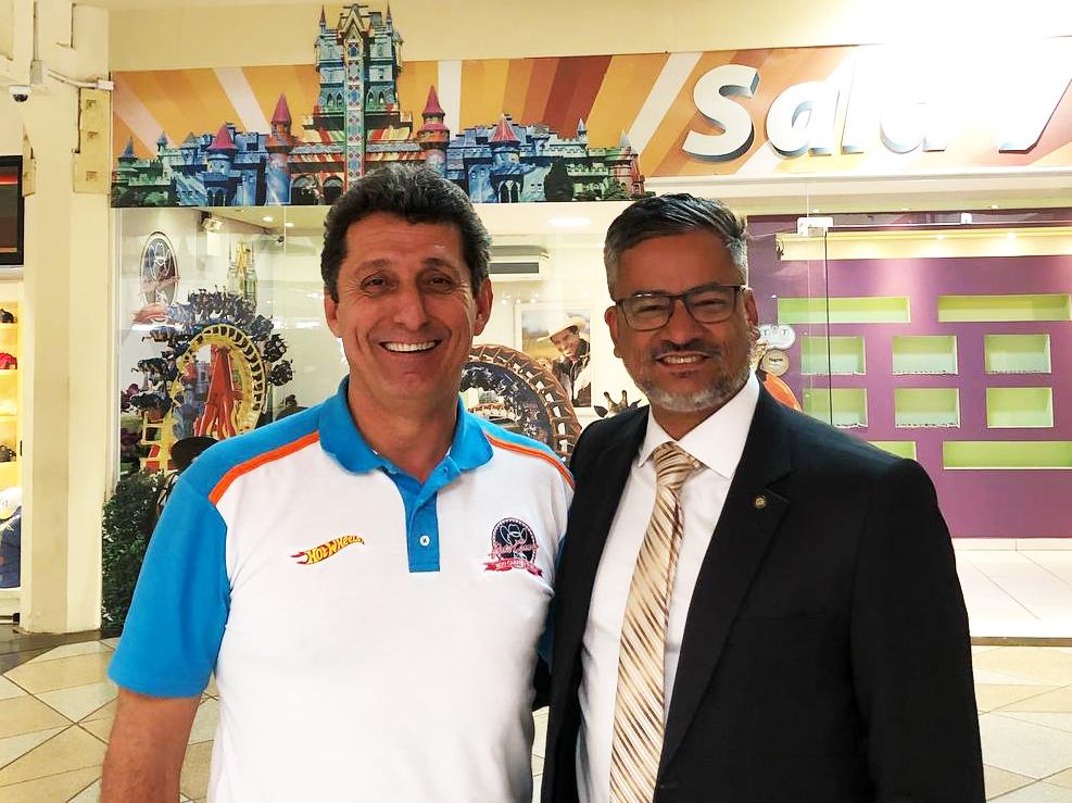 Rogerio Siqueira e Bob Santos