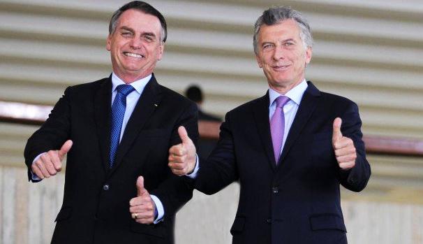 Bolsonaro e Macri - turismoonlione.net.br