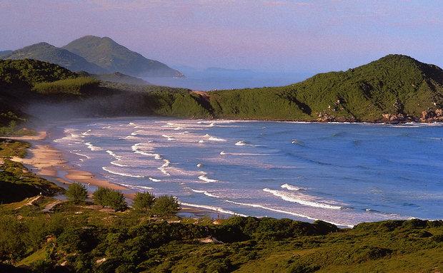Praia do Rosa - Imbituba - SC - turismoonline.net.br