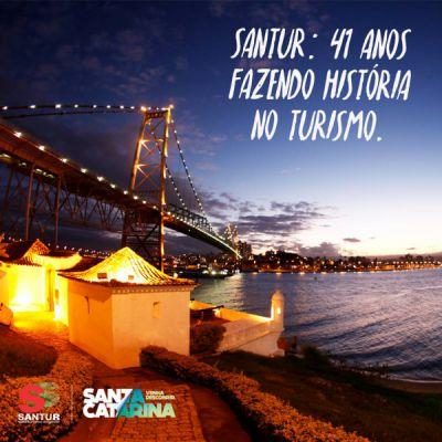 SANTUR 41 anos - turismoonline.net.br