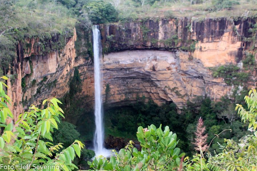 Cachoeira Chapada dos Guimarães - turismoonline.net.br