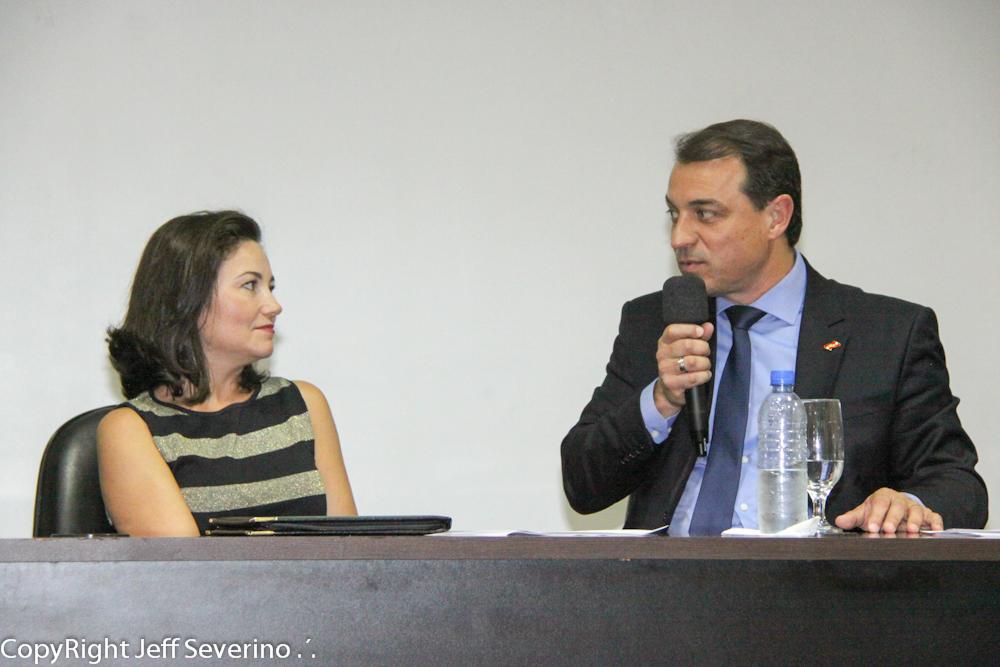 Flavia Didomenico e Carlos Moises - turismoonline.net.br