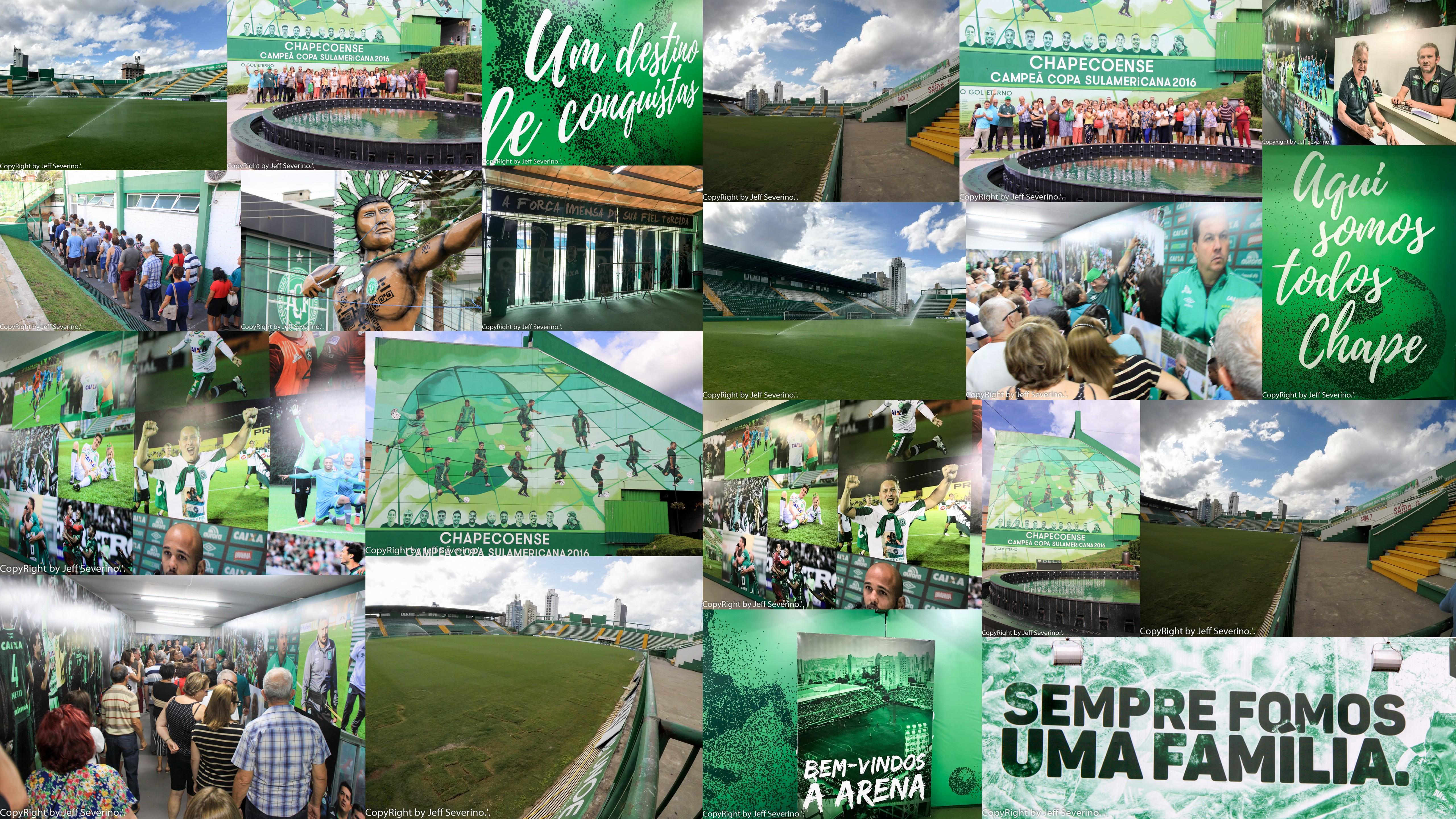 Memorial Chapecoense - turismoonline.net.br