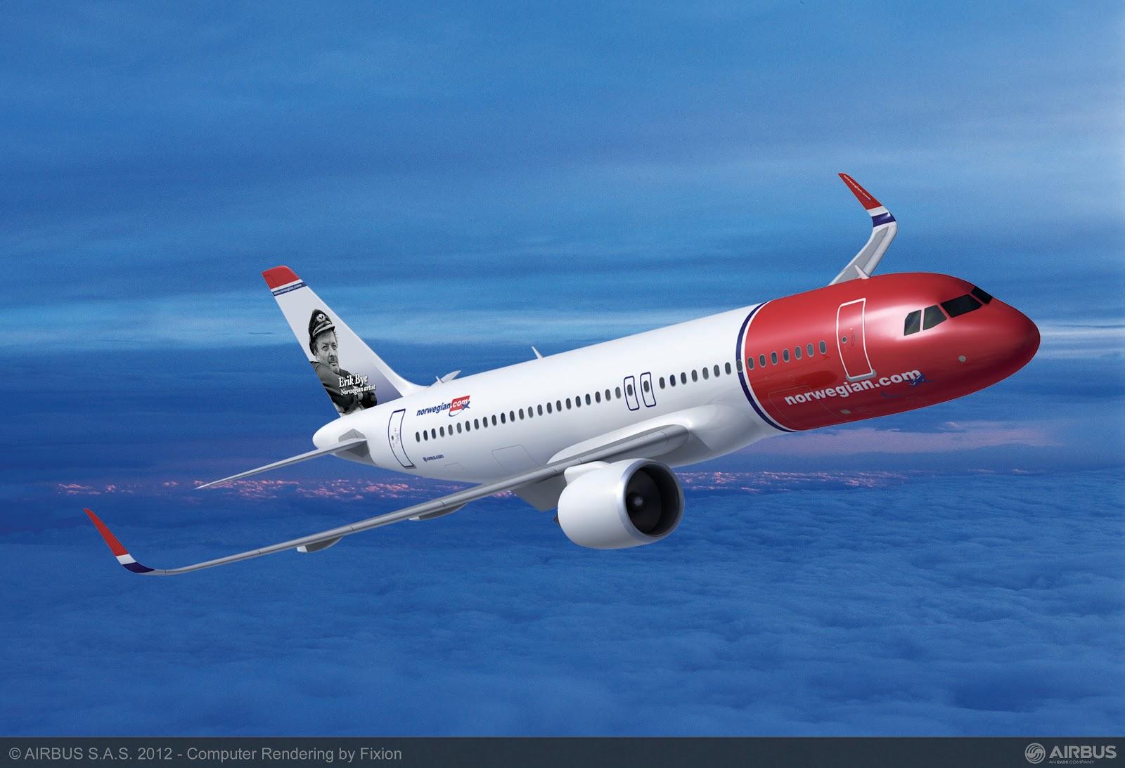 Norwegian A320neo