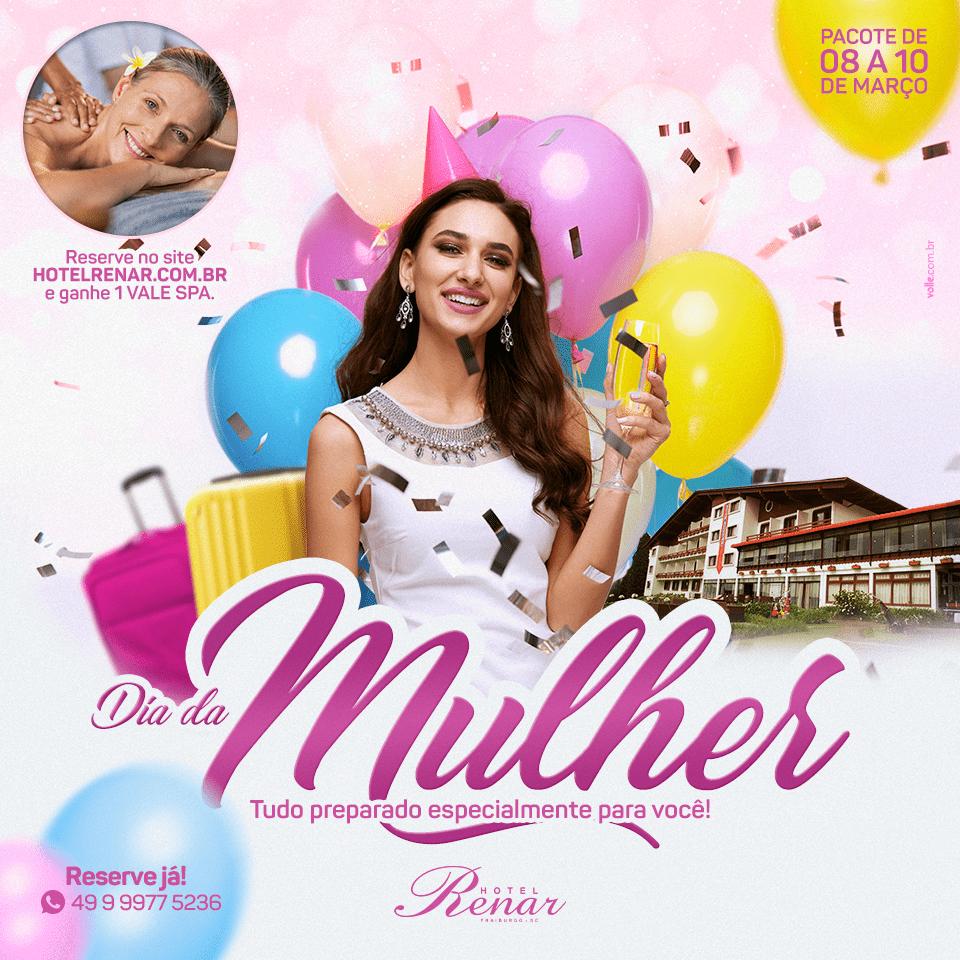 Renar Dia da Mulher - Turismoonline.net.br