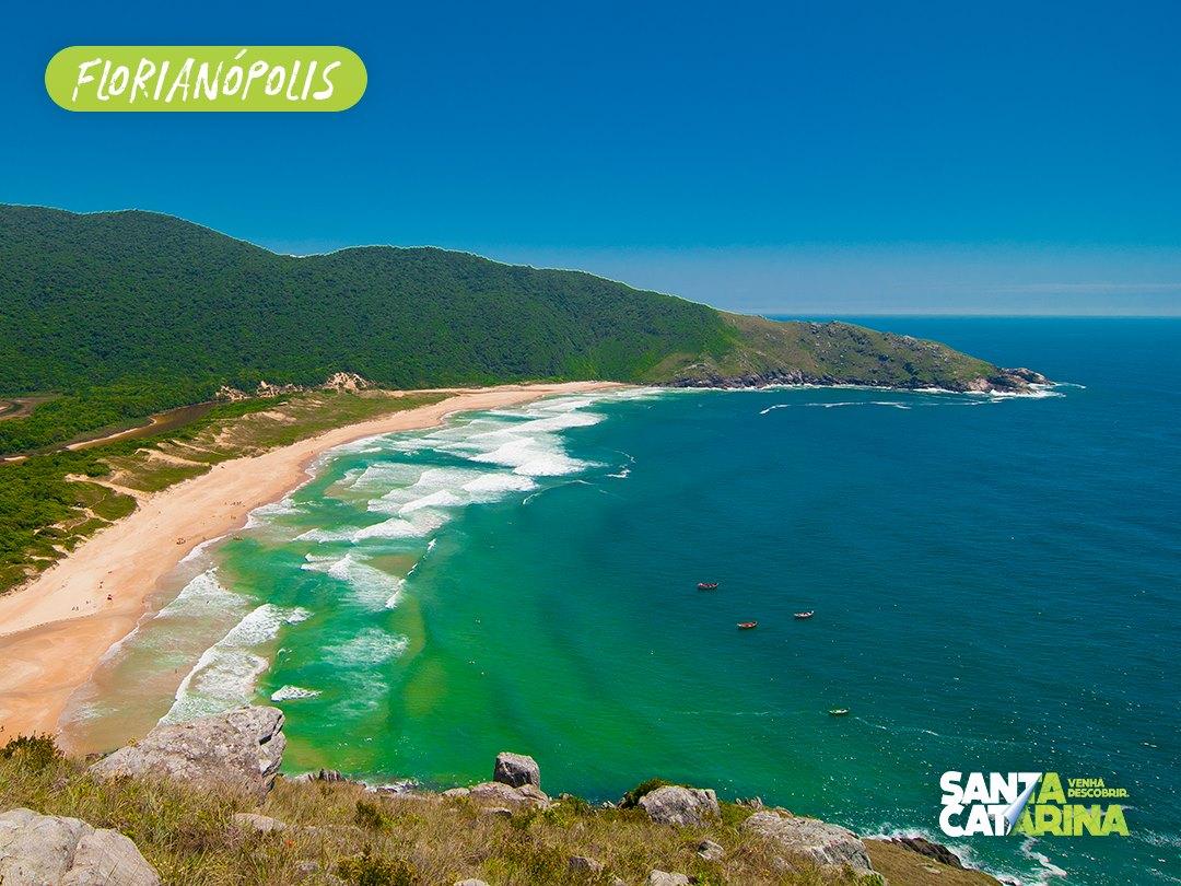 Praia da Lagoinha do Leste - turismoonline.net.br