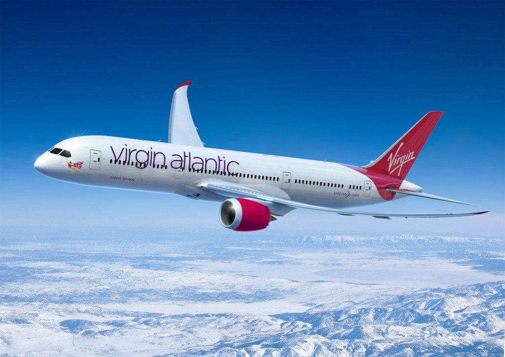 Boing Virgin Atlantic - turismoonline.net.br