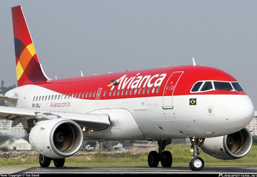 Avianca - Operações só com pagamento antecipado