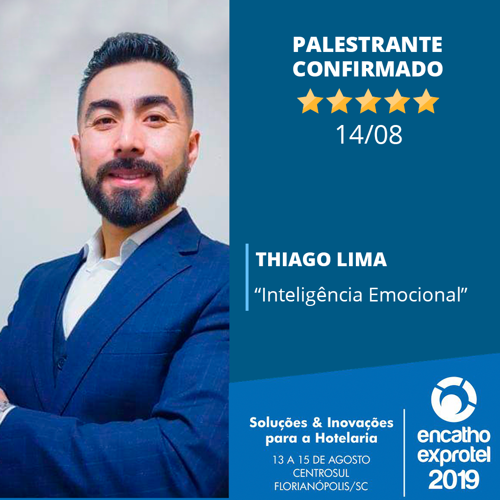 Inteligência emocional será tema de palestra no 10º Simpósio de Governança, Manutenção e Recepção Hoteleira