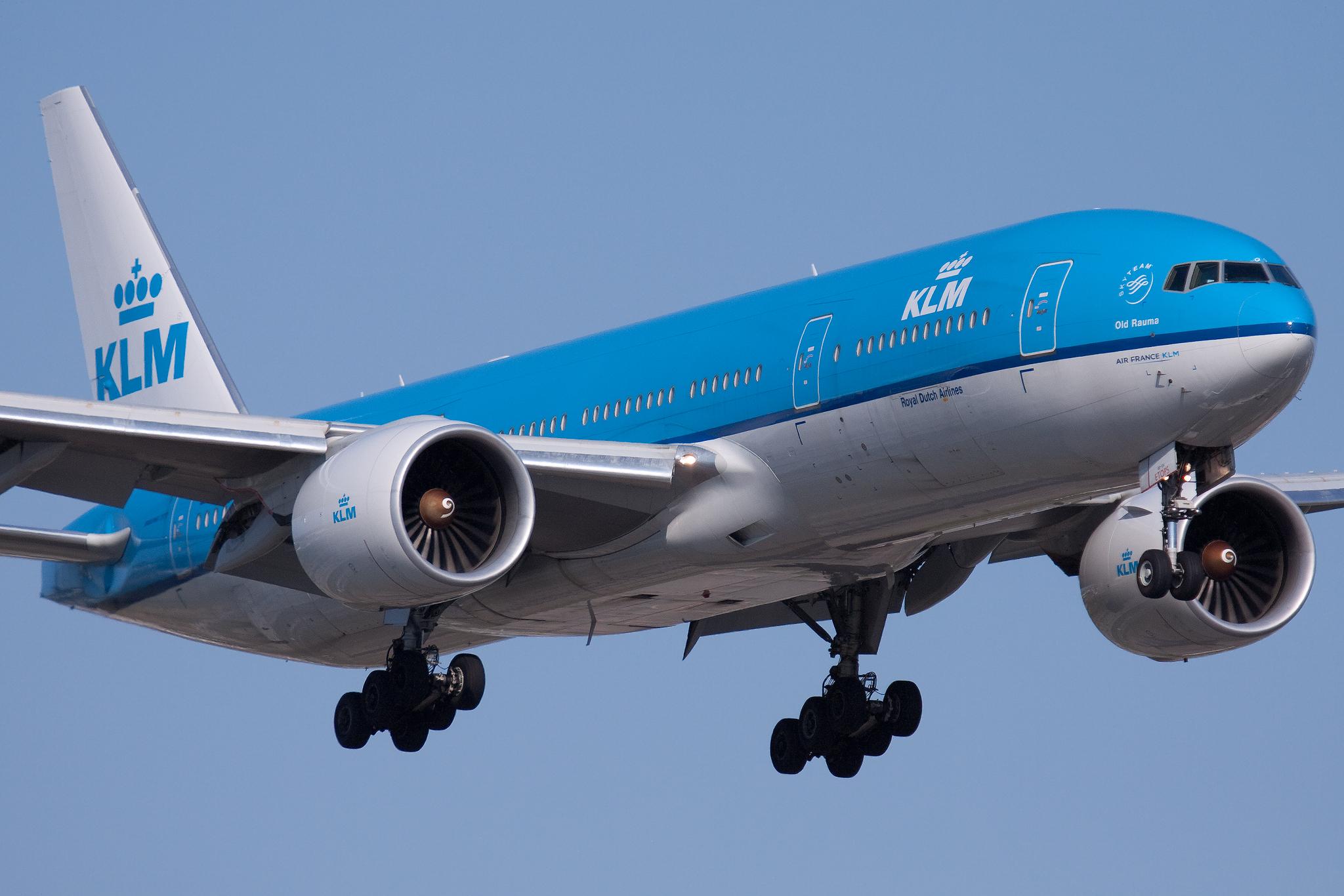 Avião KLM- Falando de Turismo