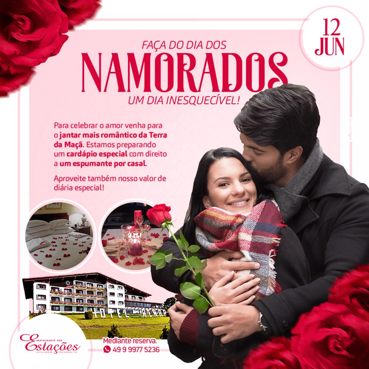 Dia dos Namorados no Hotel Renar