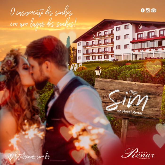 Um casamento inesquecível no majestoso Hotel Renar