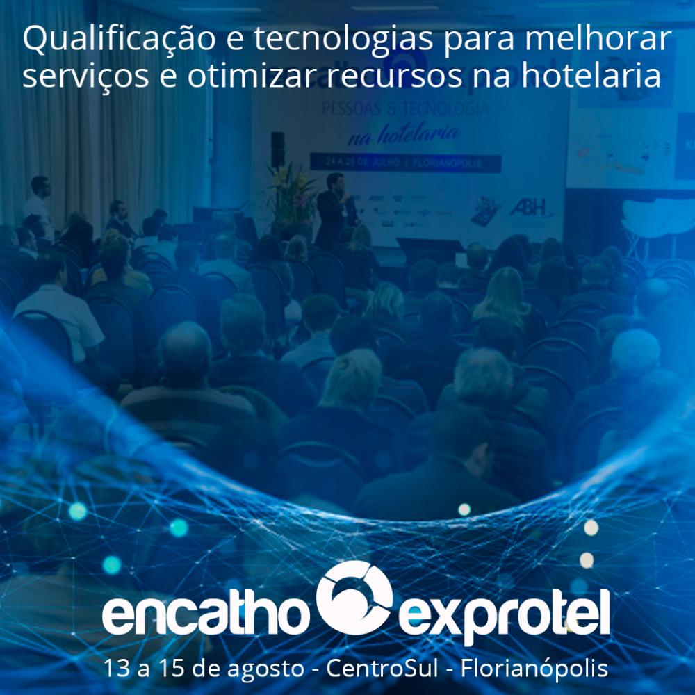 QUALIFICAÇÃO E TECNOLOGIAS - ENCATHO & EXPROTEL