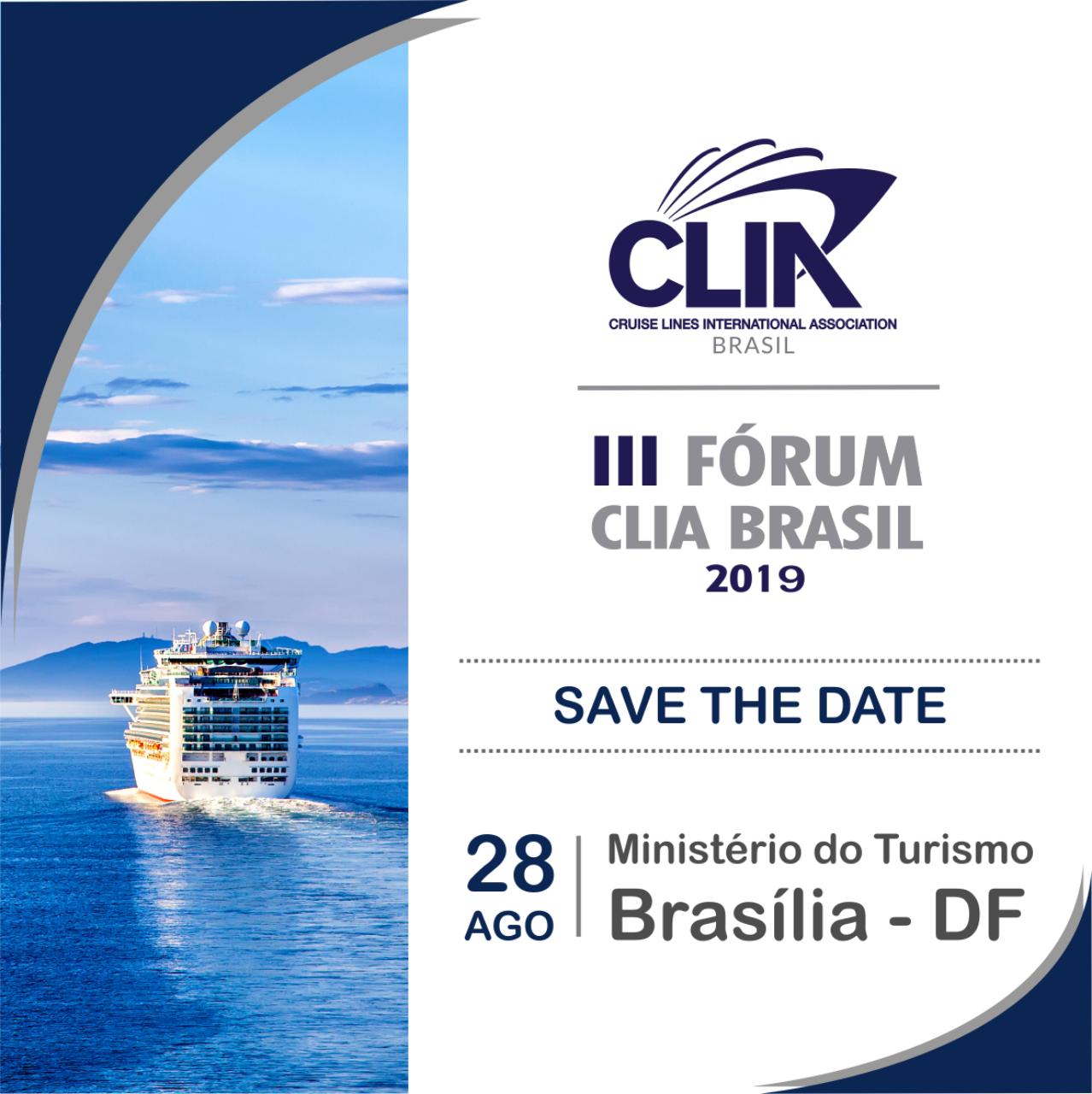 3º Fórum CLIA Brasil acopntecerá em Brasília em Agosto de 2019