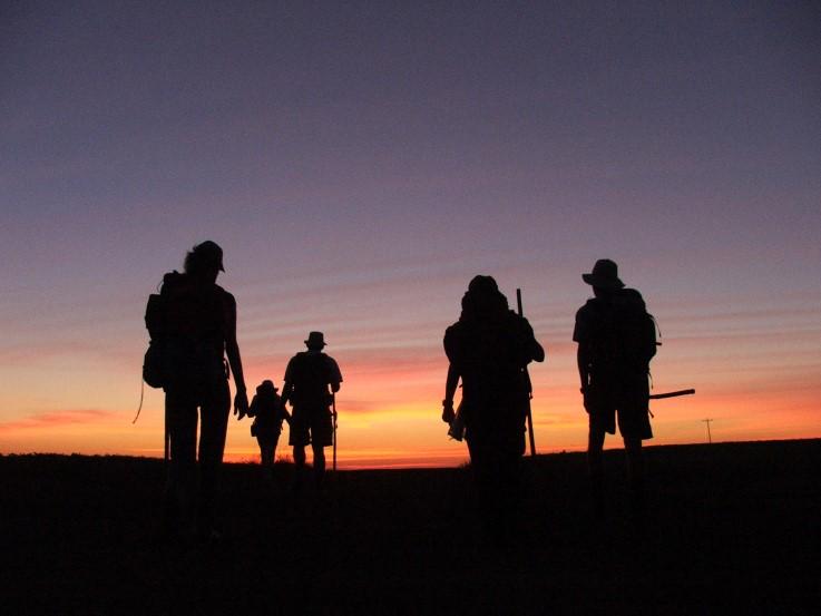"""1ª Caminhada internacional do """"Camino de las Misiones"""""""