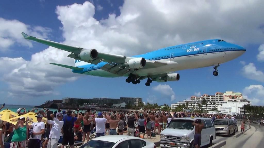 Céus abertos entre Brasil e St. Maarten