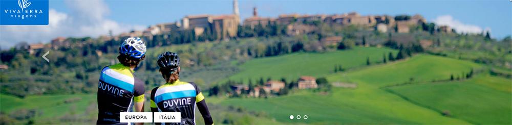De bike pela Uuropa