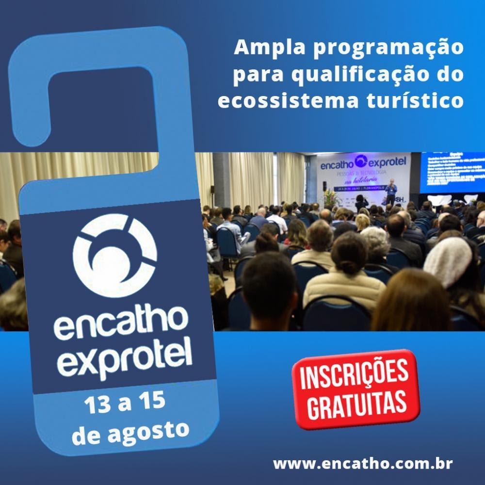 A 32ª edição do Encontro Catarinense de Hoteleiros – Encatho irá transformar o CentroSul, na capital catarinense