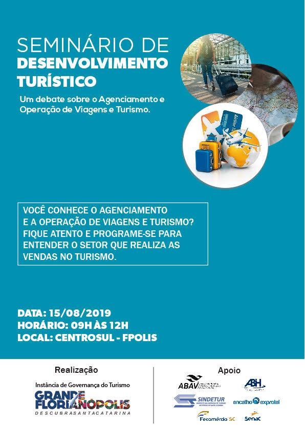 Criação de pacotes turísticos da Grande Florianópolis em evidência no mês de agosto