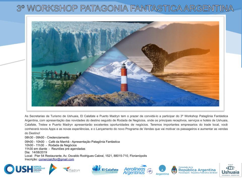 3º Workshop Patagônia Fantástica em florianópolis