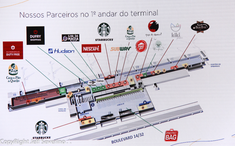 Floripa Airport apresentou mix de marcas do novo terminal e Boulevard 14/32