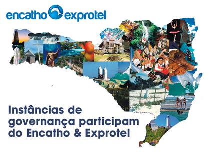 Nove instâncias participam do evento com ações de divulgação dos potenciais turísticos de suas regiões