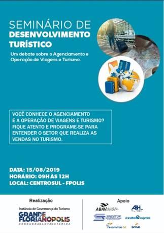 1º Seminário de Desenvolvimento Turístico - Grande Florianópolis
