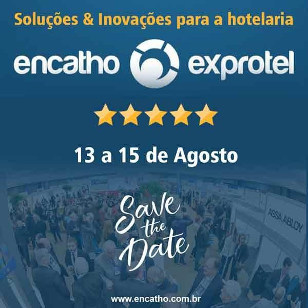 Começa nessa terça-feira o Encatho e Exprotel, encontro de hotelaria e turismo que vai movimentar toda a cadeia produtiva brasileira