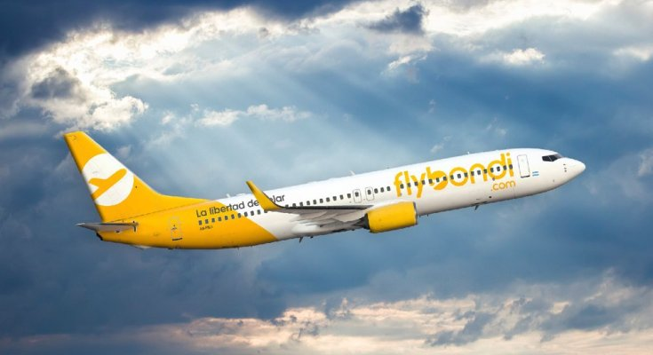 Para o nosso bem a Flybondi realizou no último dia 11, seu voo inaugural no país.