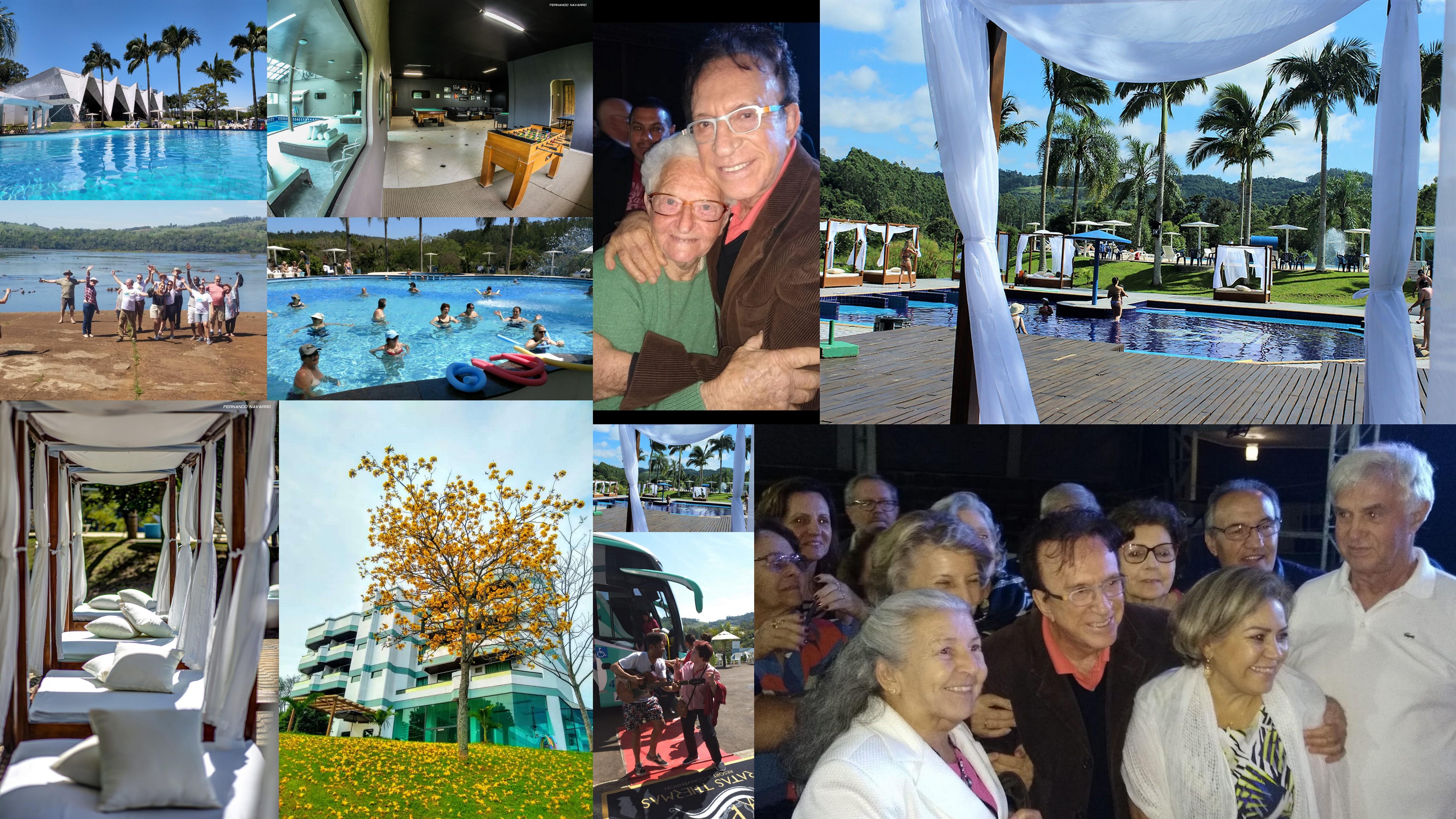 O Pratas Thermas Resort, localizado em São Carlos, no Oeste do Estado, iniciou ontem as celebrações do pacote Longevidade e reuniu centenas de idosos, que puderam curtir de pertinho o super show de Moacir Franco.