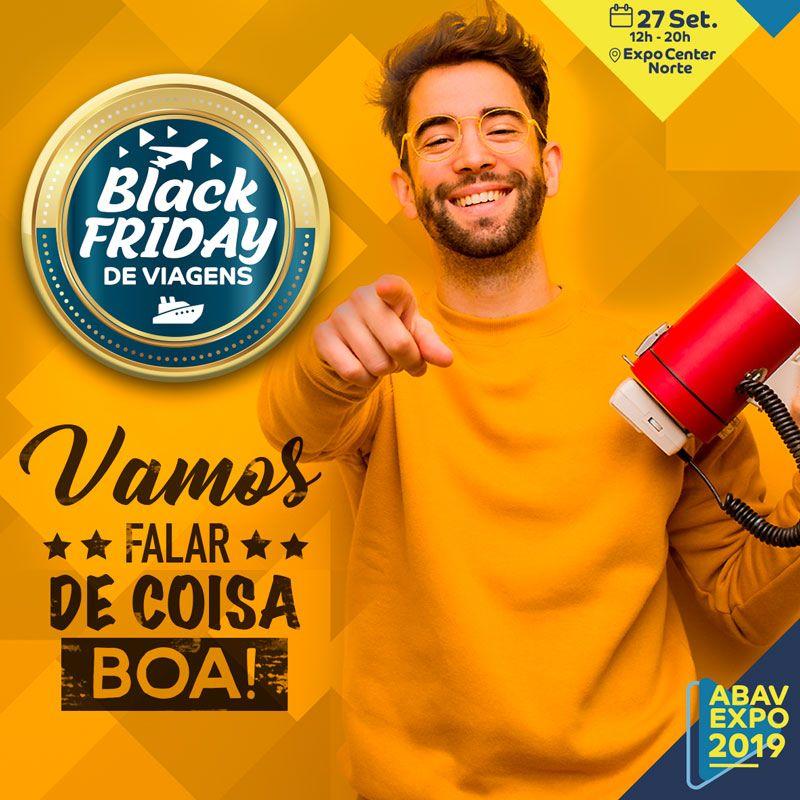 COMEÇA A vENDA DE INGRESSOS PARA A BLACK FRIDAY DE VIAGENS
