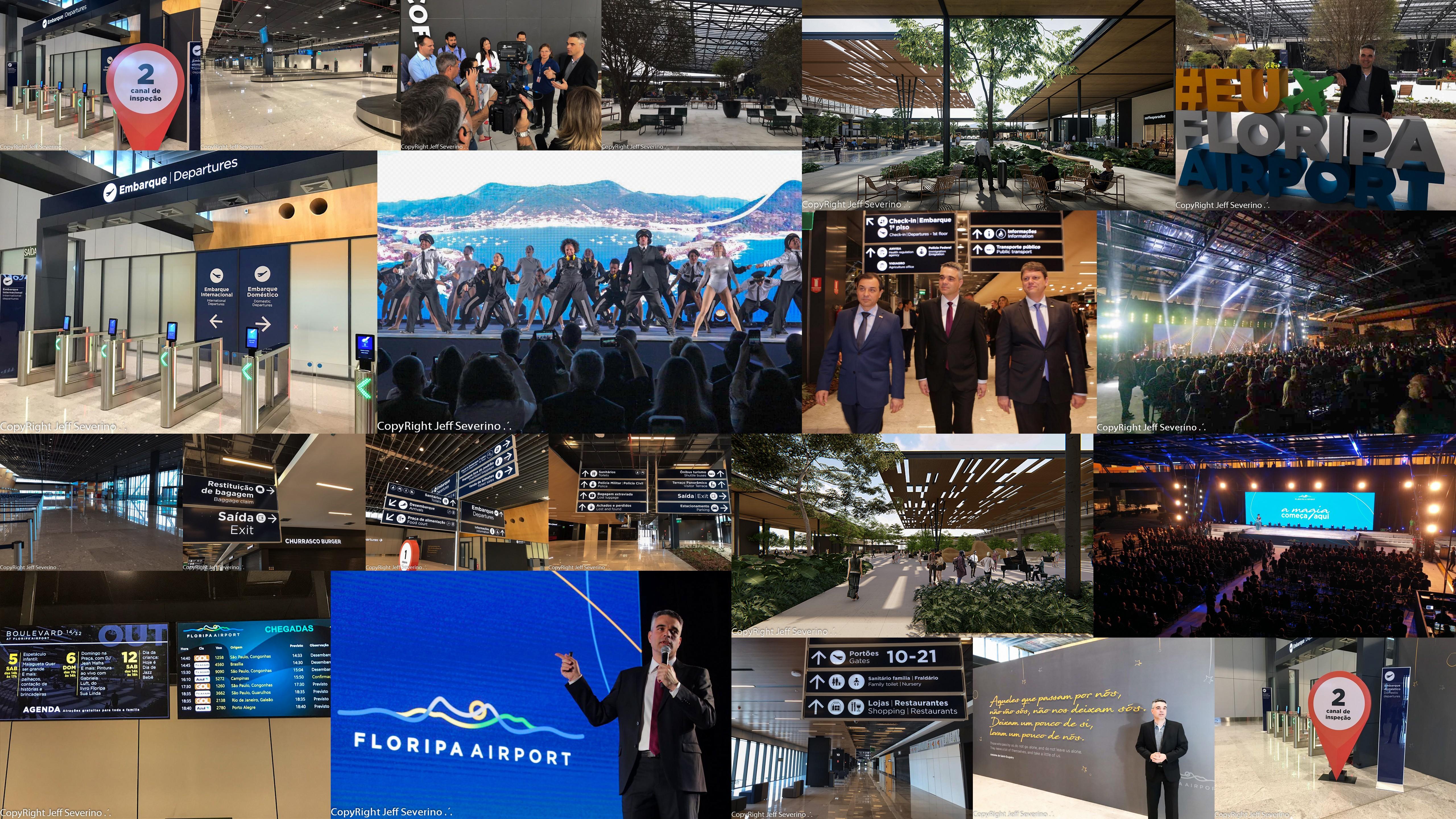 Novo marco para Florianópolis. Froripa passa a ter um aeroporto internacional de verdade