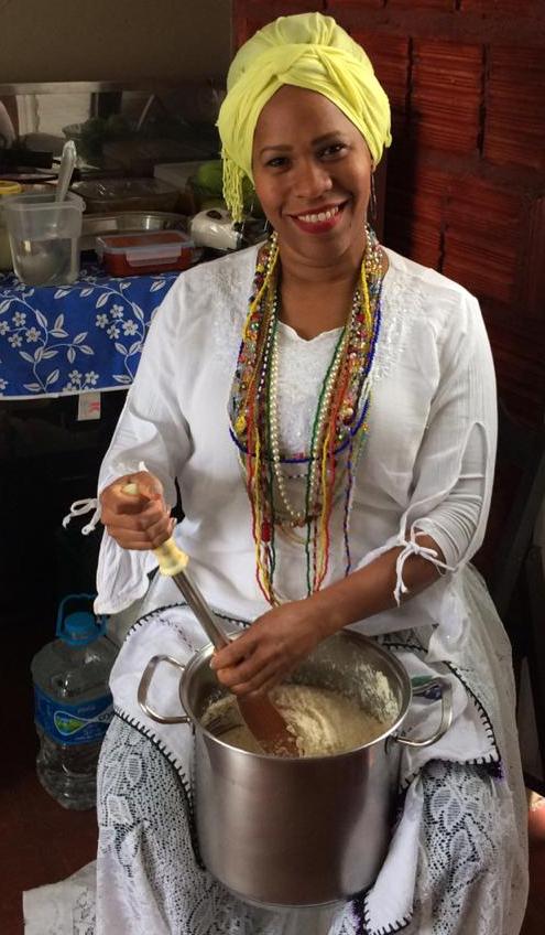 Jucélia Conceição irá cozinhar no Cauê