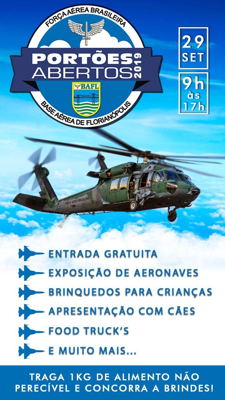 Portas Abertas na Base Aérea de Florianópolis