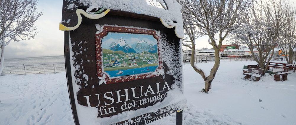 Temperada de neve 2019 em Ushuaia