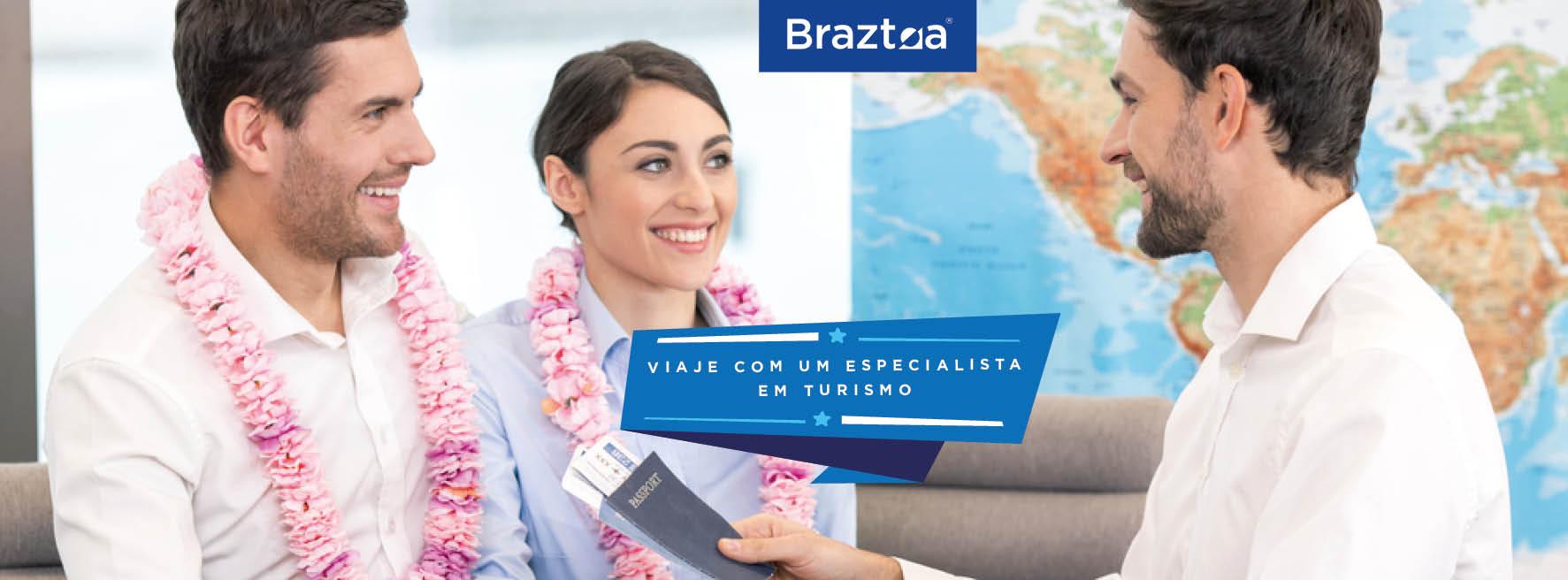 A Braztoa (Associação Brasileira das Operadoras de Turismo) reúne operadoras de turismo, colaboradoras e empresas de representação de produtos e destinos, além de convidados, responsáveis por estimados 90% das viagens organizadas de lazer, comercializados pela cadeia produtiva no Brasil