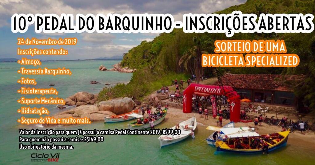 Ministério do Turismo investiu 418 milhões de reais em 694 obras de infraestrutura turística-Vem aí a 10ª Edição do Pedal do Barquinho