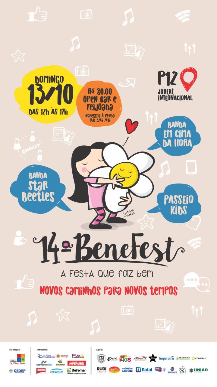 Benefest acontece neste domingo em Florianópolis