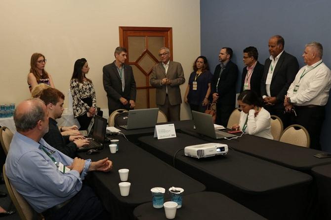 A reunião do Grupo de Trabalho do Turismo no 5º Encontro do Consórcio de Integração Sul e Sudeste (Cosud)