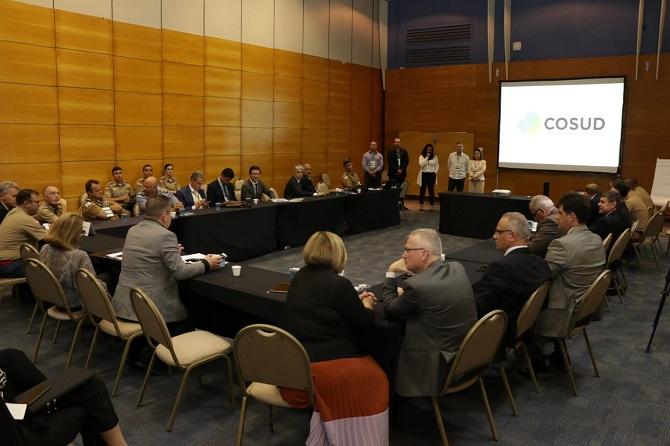 A reunião do Grupo de Trabalho do Turismo no 5º Encontro do Consórcio de Integração Sul e Sudeste (Cosud), que terminou no último sábado (19), em Florianópolis