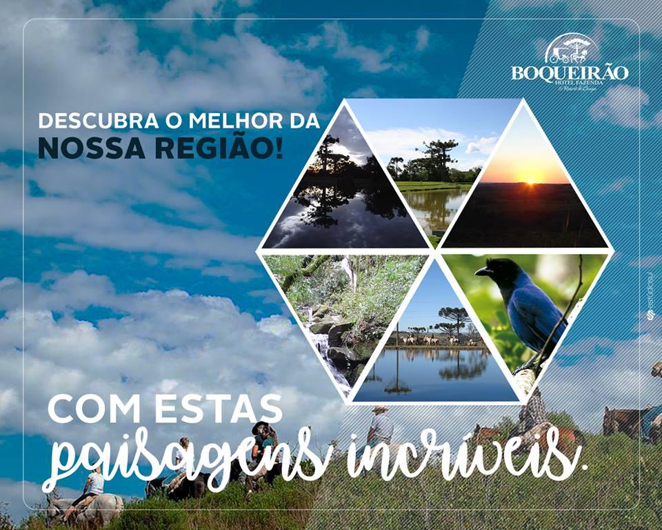 Hotel Fazenda Boqueirão - Ícone do Turismo Rural do Brasil - Lages - SC - A Princesa da Serra